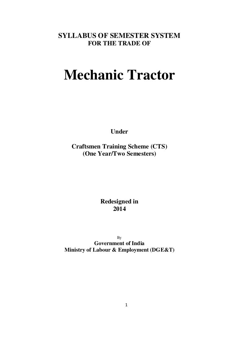 Syl Mechanic Tractor 08 06 14 62 Light Wiring 2v