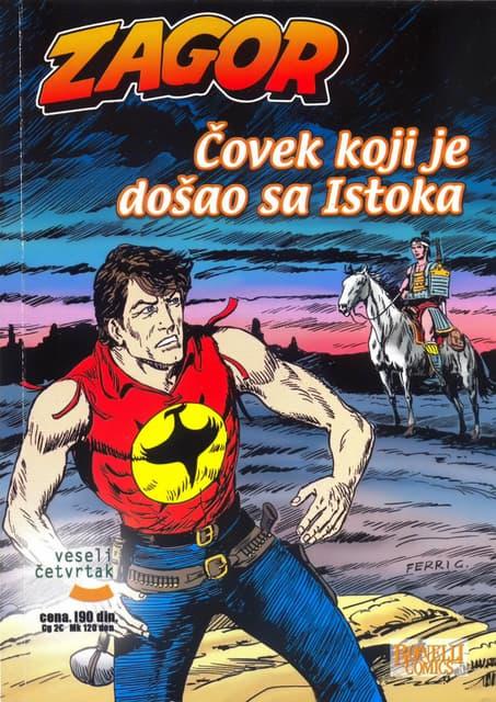 017. ZAGOR - ČOVEK KOJI JE DOŠAO SA ISTOKA