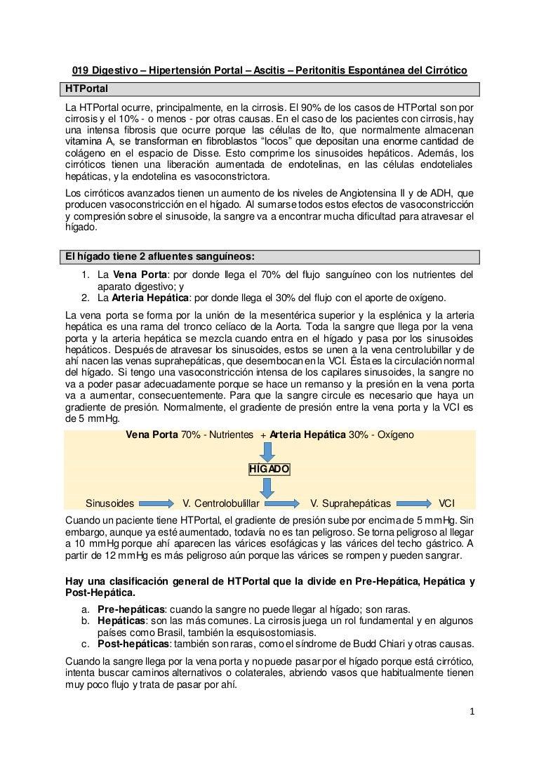 Icd 10 causas de hipertensión portale