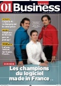 "01Business n°2162 - Les champions du logiciel ""Made in France"""