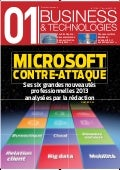 01Business&technologies n°2160 - Microsoft contre-attaque