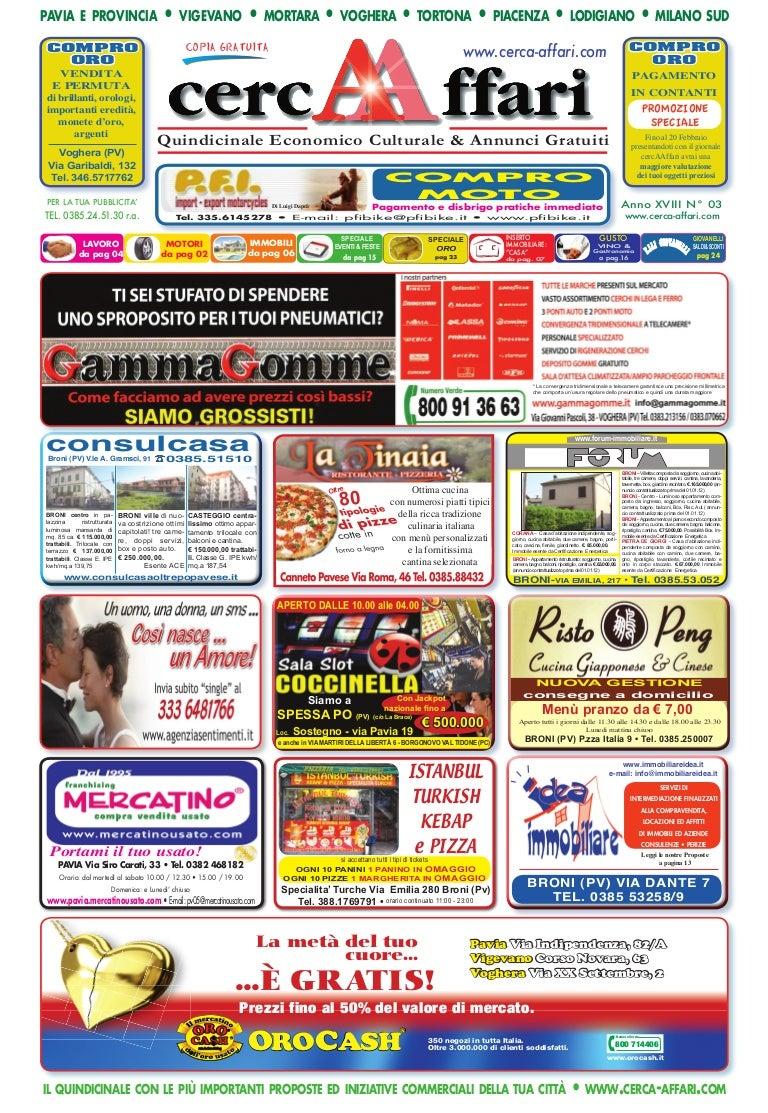 cercAAffari prima pagina edizione n. 03 2012