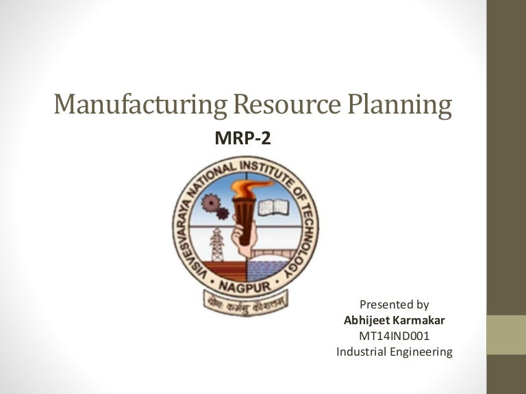 manufacturing resource planning