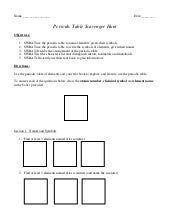 Free worksheets library download and print worksheets free on periodic table scavenger hunt trends activity unit 7 the activate urtaz Image collections