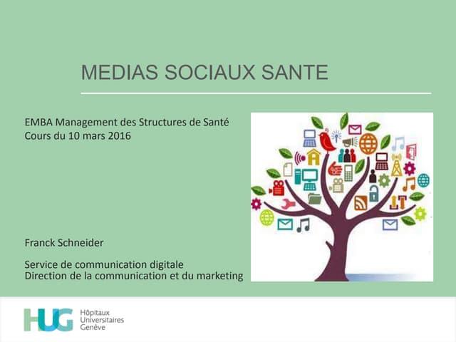 Media Sociaux Santé