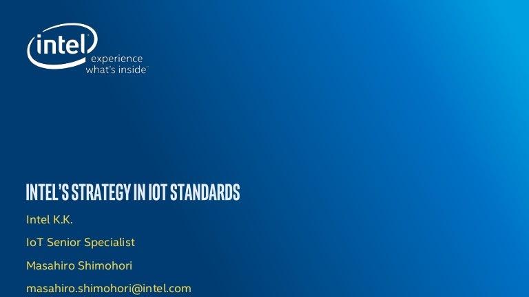 Intels strategy in iot standards voltagebd Gallery