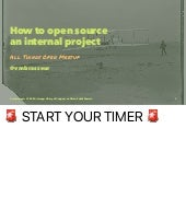 How to Open Source an Internal Project