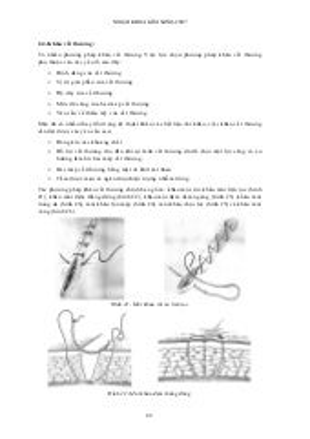 Kỹ năng ngoại khoa (p2)