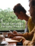 What Are 8 Steps To A Successful Social Campaign Plan And Checklist? #slideshow