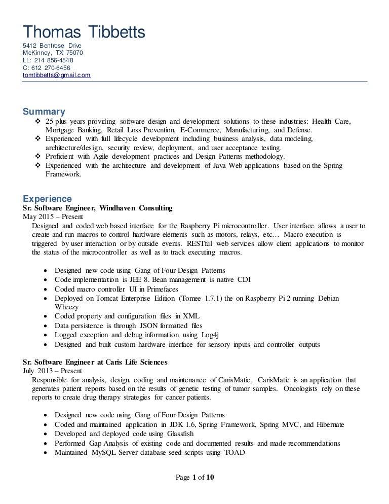 developer resume 34 20150713