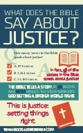What Does The Bible Say About Justice?