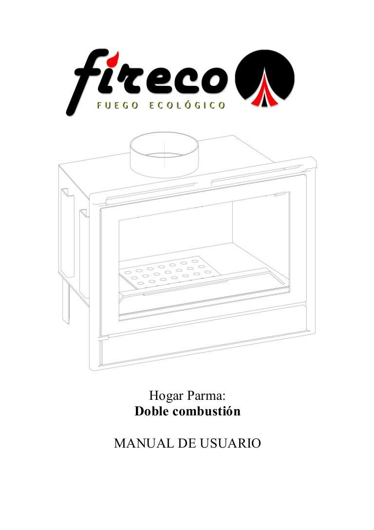 Insertable Parma: Manual de instrucciones