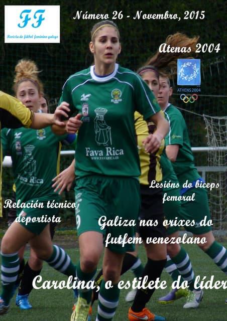 revista fútbol femenino novembro 2015