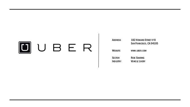 Uber Presentation