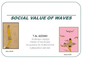 Social Value of Waves and Surfing - Experience presented by Taha AL AZZAWI