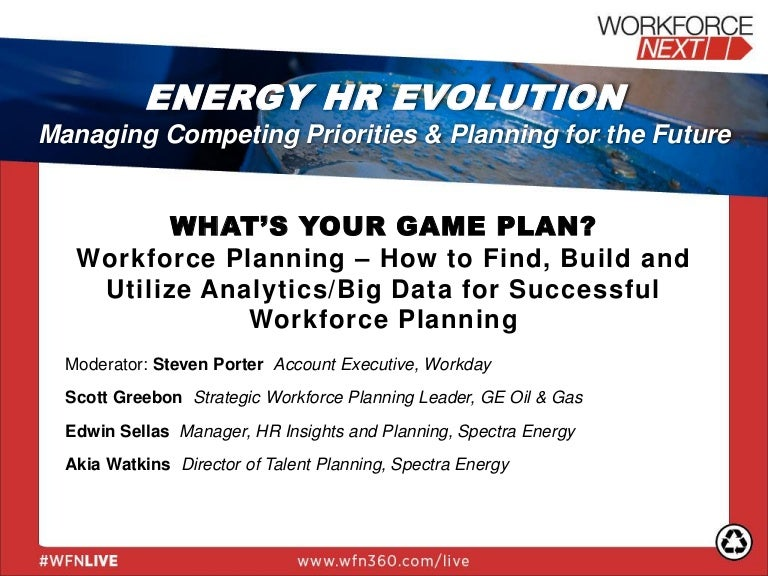What's Your Game Plan? Workforce Planning - How to Find