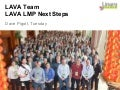 LCU13: LAVA LMP round table