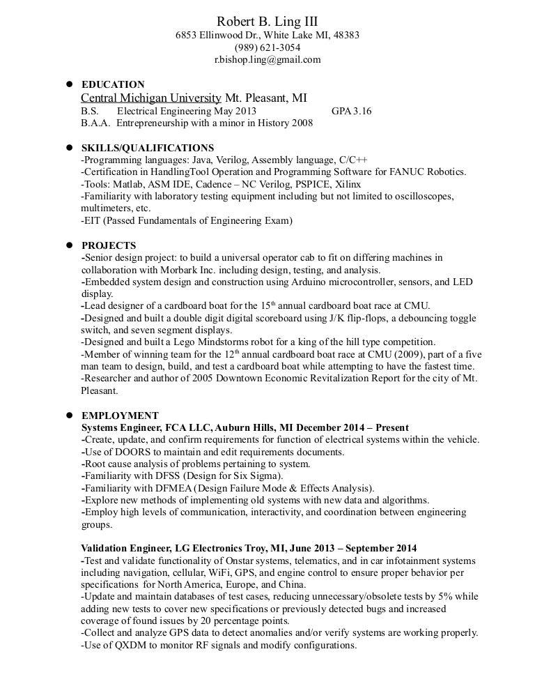 Ling Resume