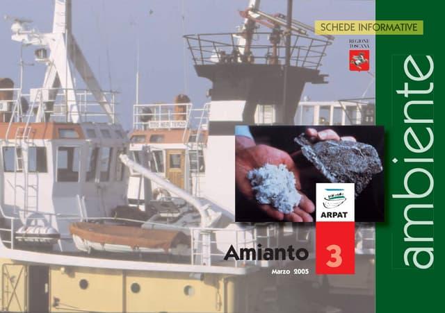 Amianto - Schede informative