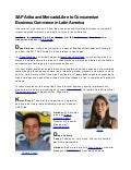 SAP Ariba and MercadoLibre to Consumerize Business Commerce in Latin America