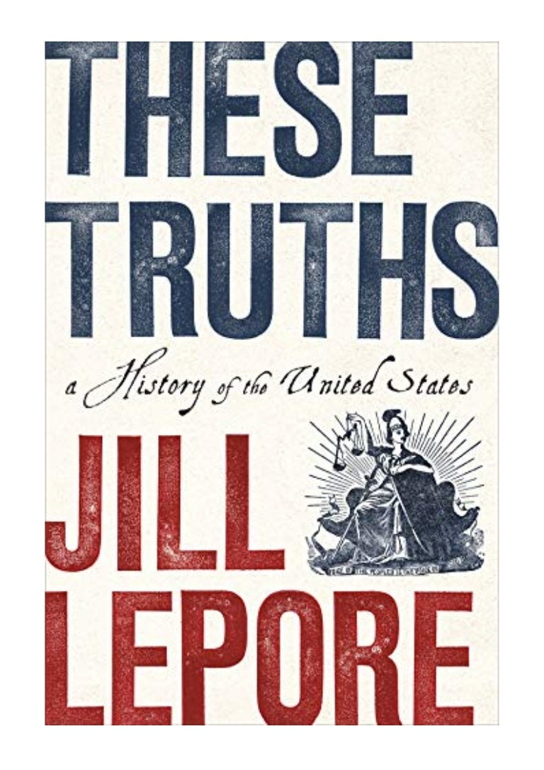 Image result for jill lepore these truths