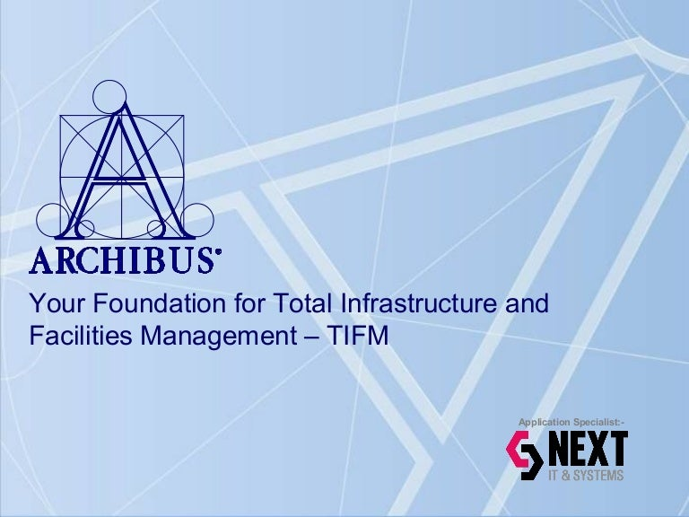 Archibus_Overview