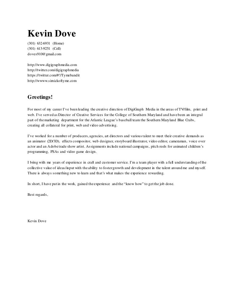 Cover Letter 5.1