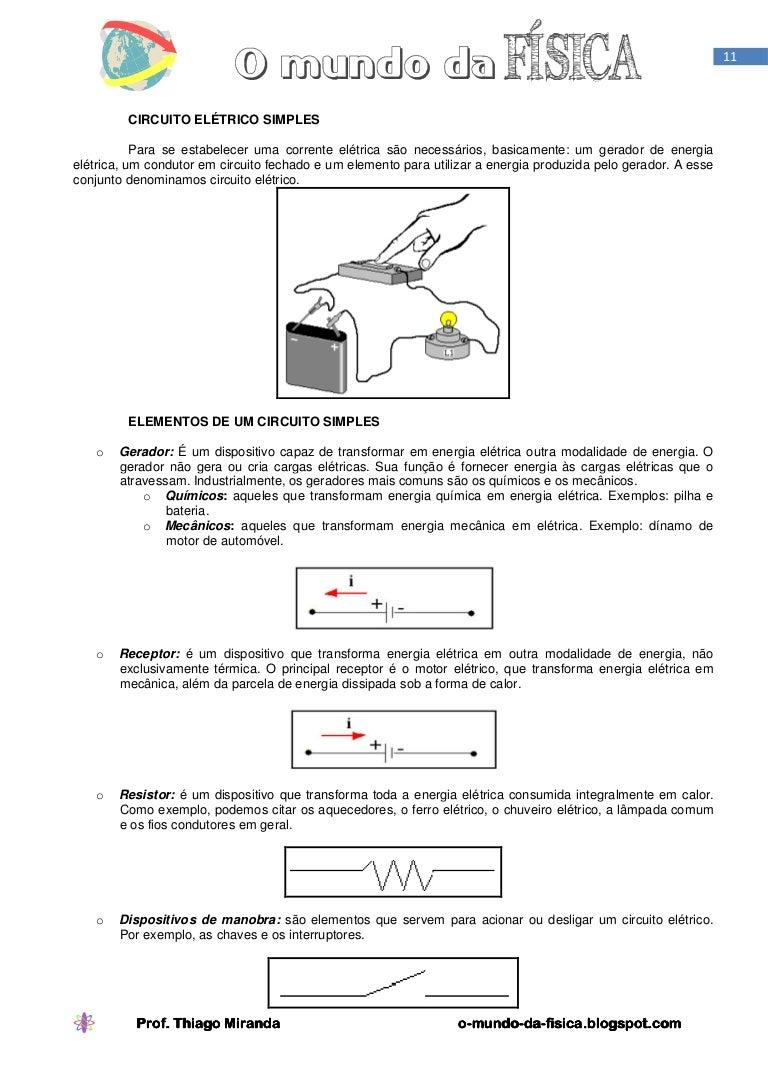 Circuito Eletricos : Circuito elétrico