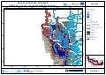 Project Danube FLOODRISK, Slovakia, Flood hazard maps, Water depth at flowrate Q1000