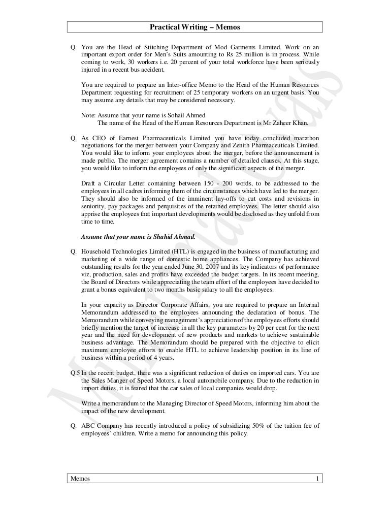 employee memo template sample army memo templates example 03 practical writing all memos