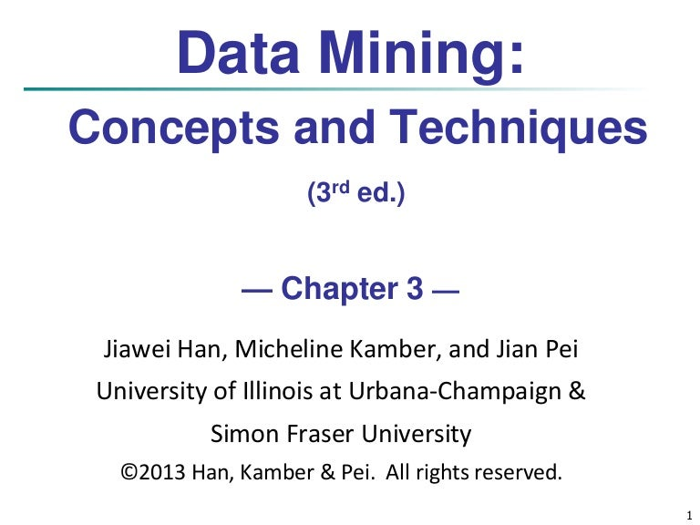 data mining chapter 2 questions Data mining practical machine learning tools and techniques slides for chapter 1 of data mining by i h  ii important questions:  chapter 2 summary.