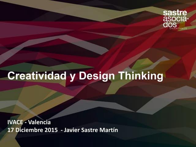 Creatividad y Design Thinking para innovar