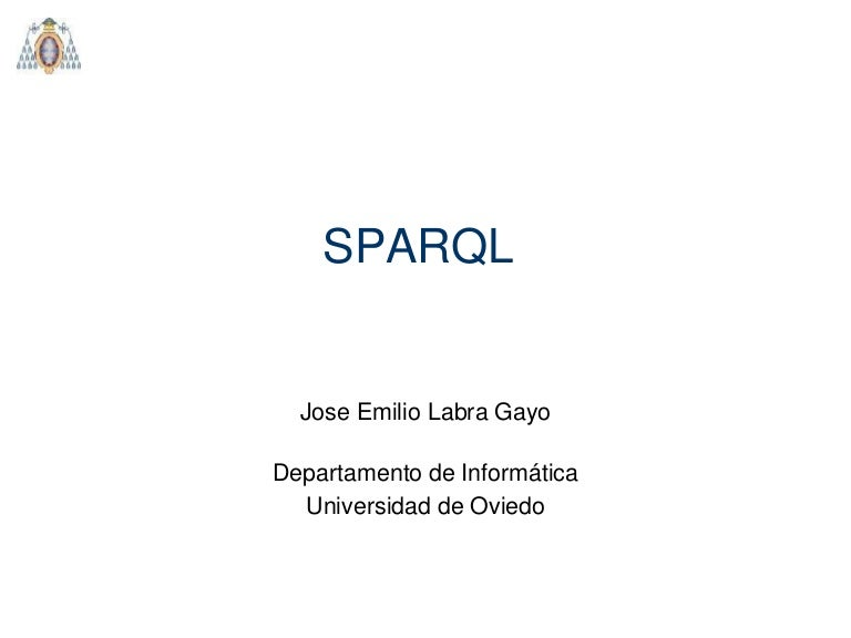 Introduction to SPARQL