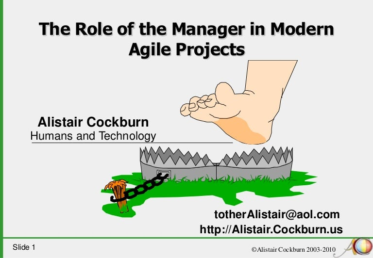 Hybrid Performance Method >> The Role of Project Manager in Modern Agile Projects