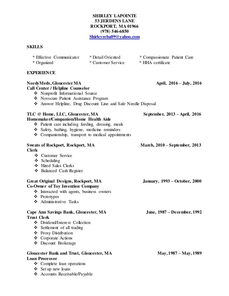 Shirley Resume Final