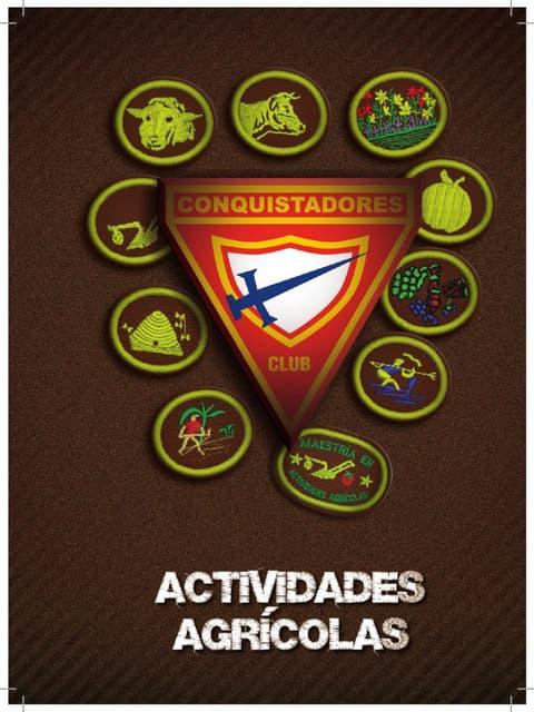 04 Especialidades de Actividades Agricolas   Club de Conquistadores