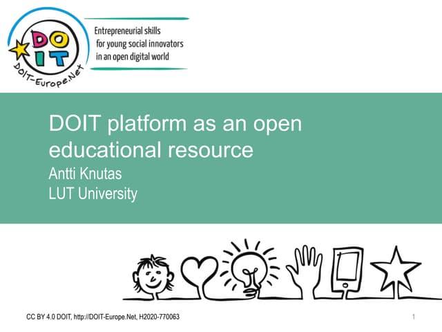 04_Knutas_DOIT platform as an open educational resource