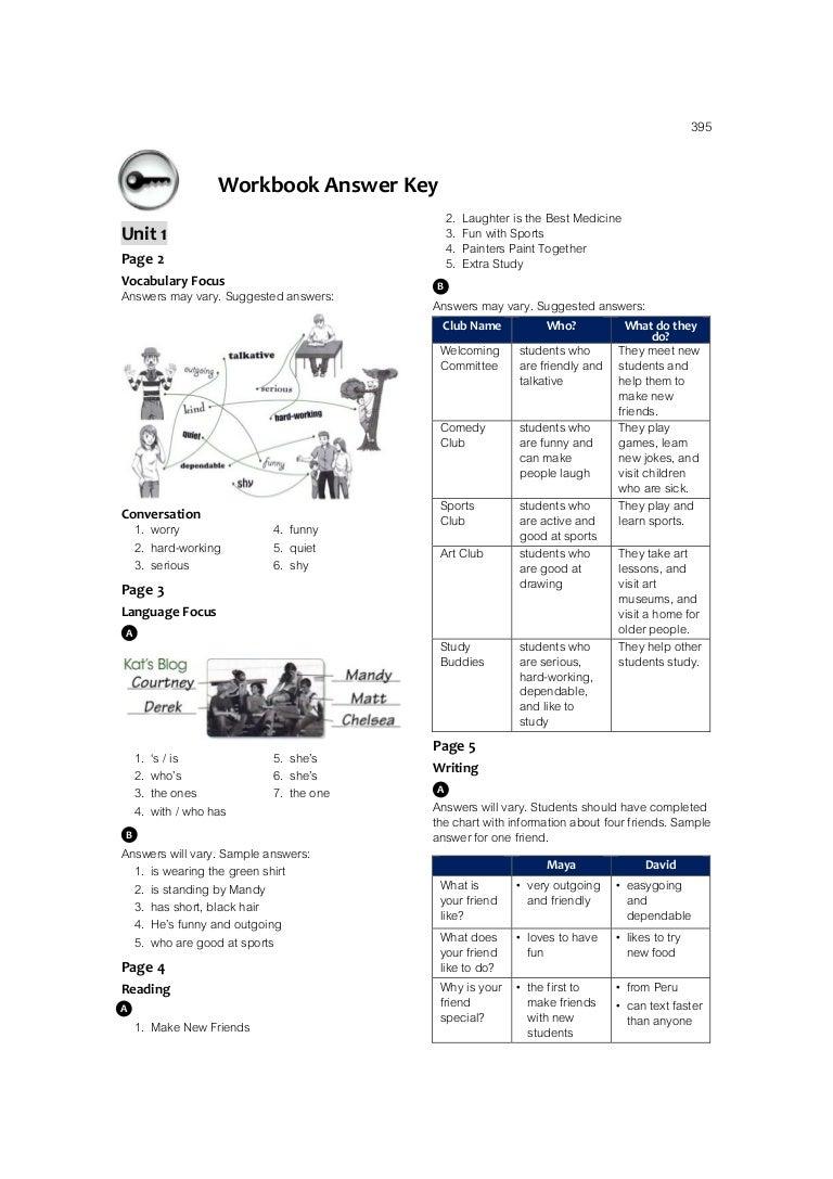 Time Zone M.3 Workbook Answer Keys