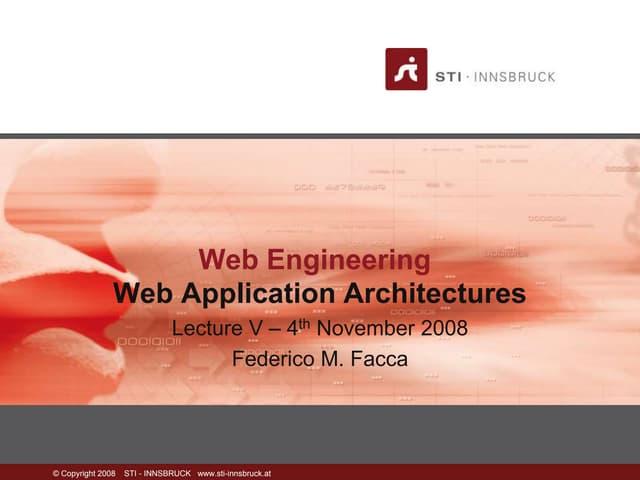 05 web architectures