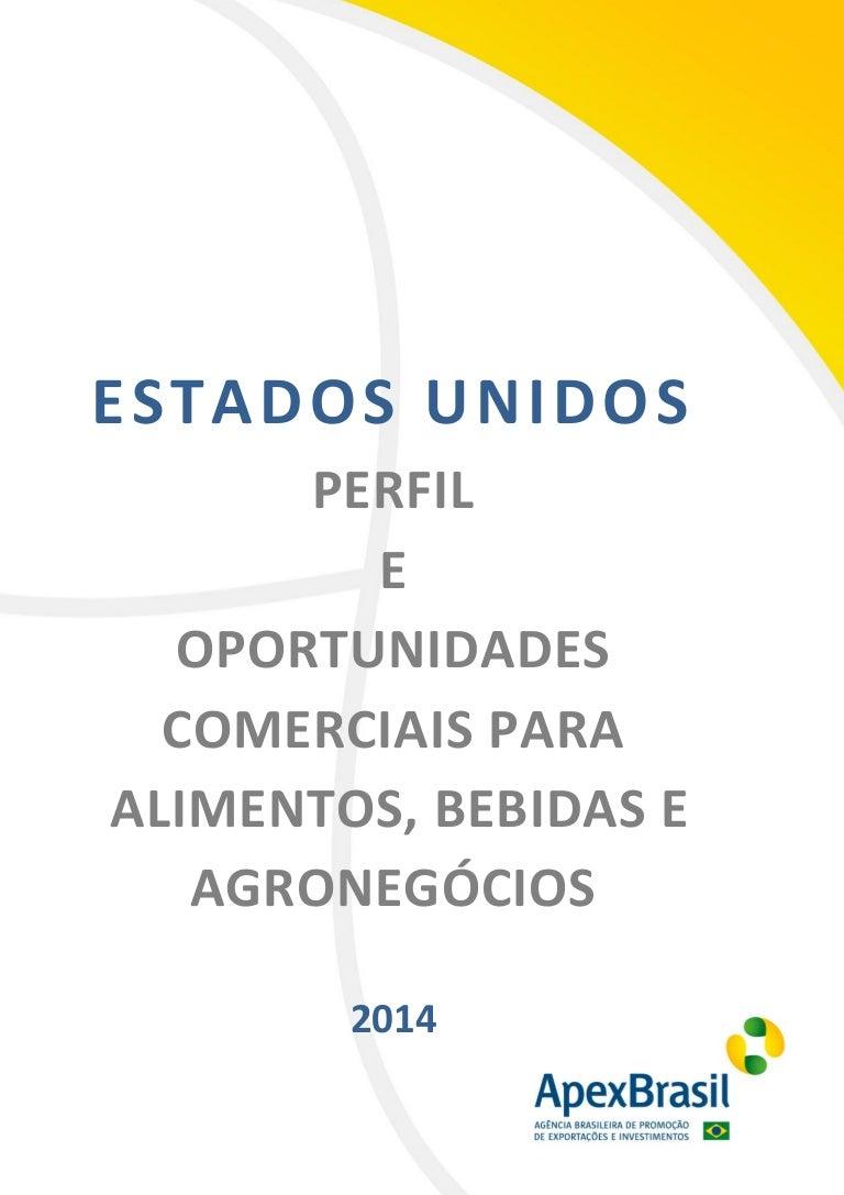 0b63735ed Estudo ApexBrasil - Perfil alimentos