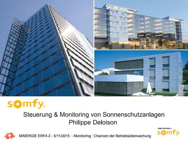 Steuerung & Monitoring von Sonnenschutzanlagen