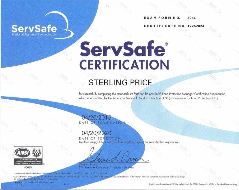 Serv Safe