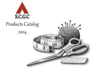 SCGC Products Catalog 2014