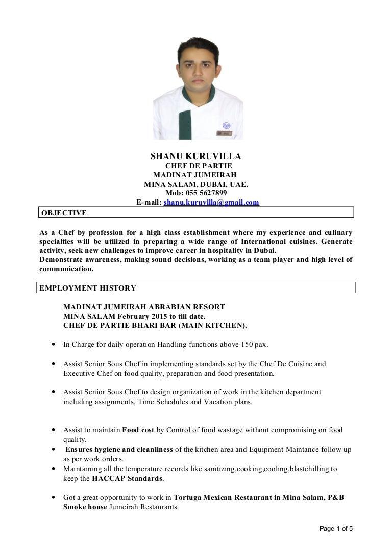 Chef Resume Sample Chef Newsound Co Commis Chef Resume Format Chef  LiveCareer Chef Resume Sample Chef