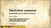 FinTech Workshop 05: Michael Puhle - An introduction to Robo-Advisors