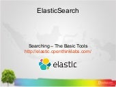 05. Searching – The Basic Tools