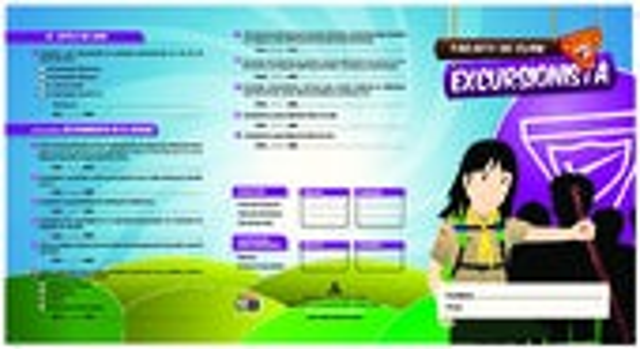 Tarjeta de Clase Excursionista 2014