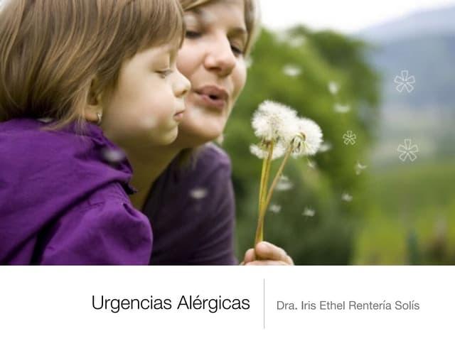 UVM Emergencias Médicas Básicas Sesion 05 Urgencias Alérgicas