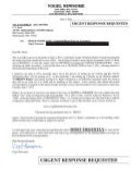 06/05/11 FAX TO U.S. BANK EXECUTIVE RICHARD DAVIS