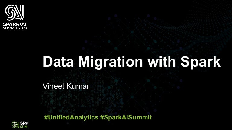 Data Migration with Spark to Hive